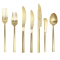 Rental store for Rome Flatware - Gold in Monterey CA