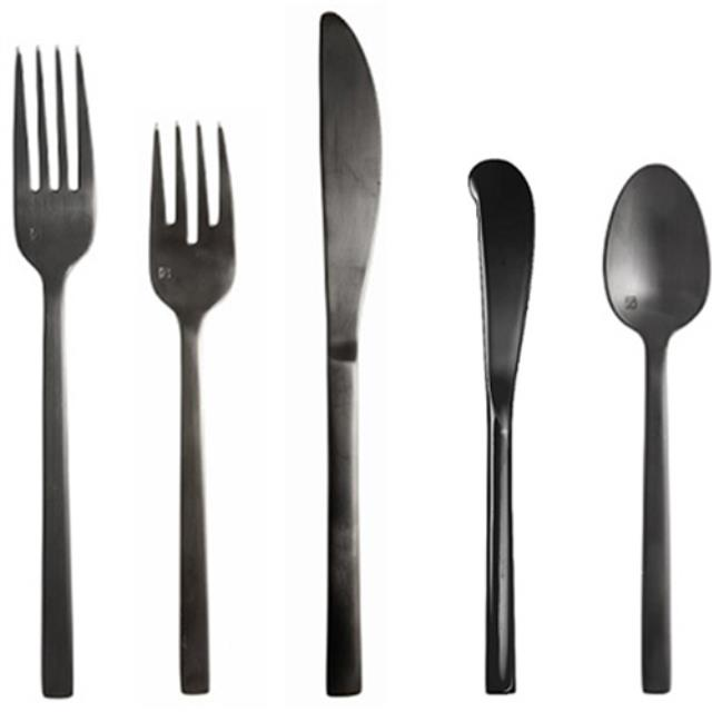 Where to find Paris Flatware - Black in Monterey