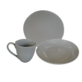 Rental store for Stone Dinnerware - Grey in Monterey CA