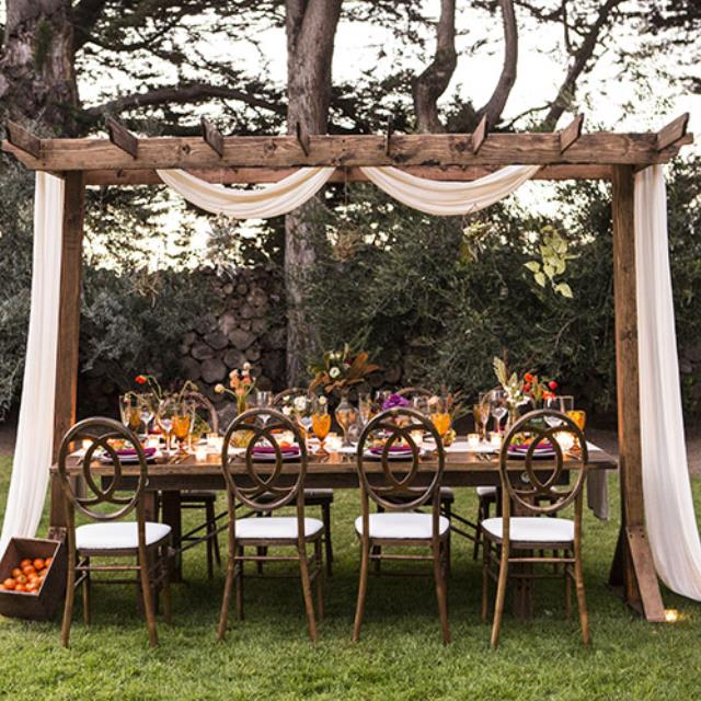 Where to find Rustic Arbor in Monterey