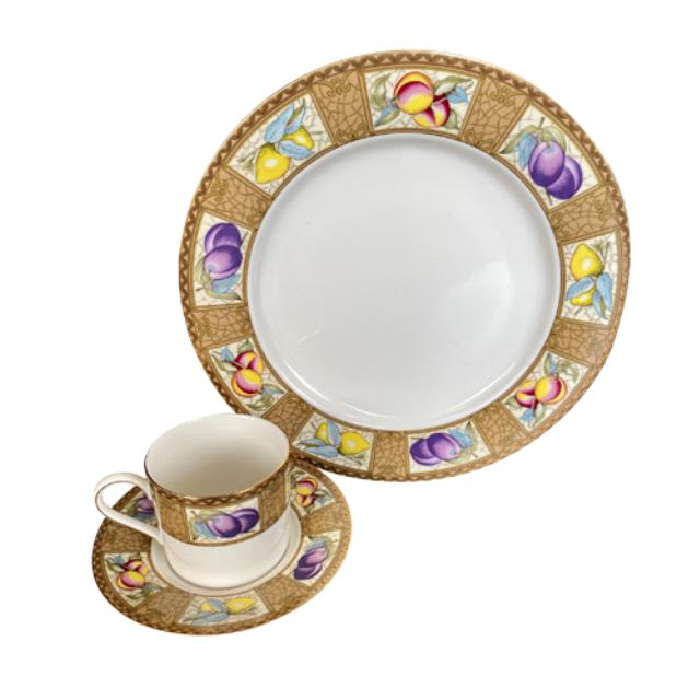Where to find Melina Dinnerware - Fruit Rim in Monterey