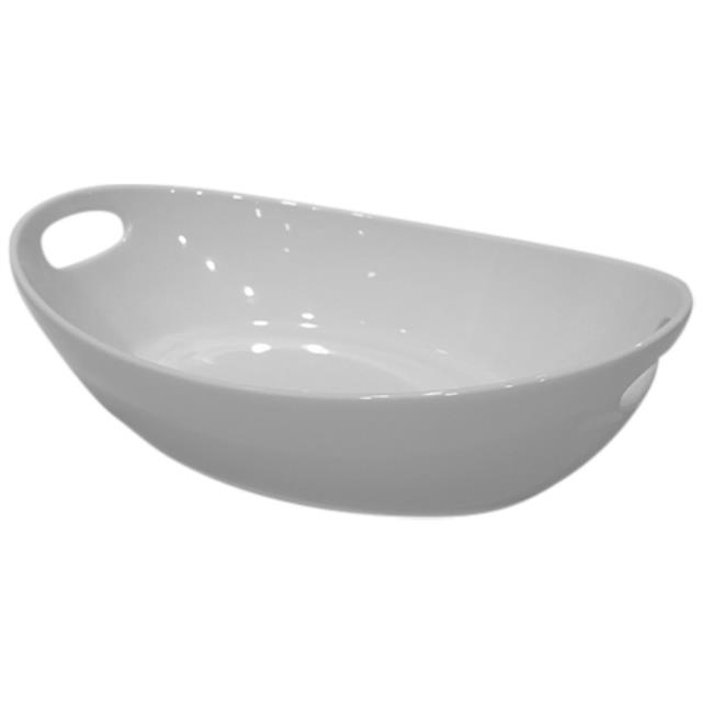 Where to find Serving Bowl - Oval 14  x 9  w  handles in Monterey