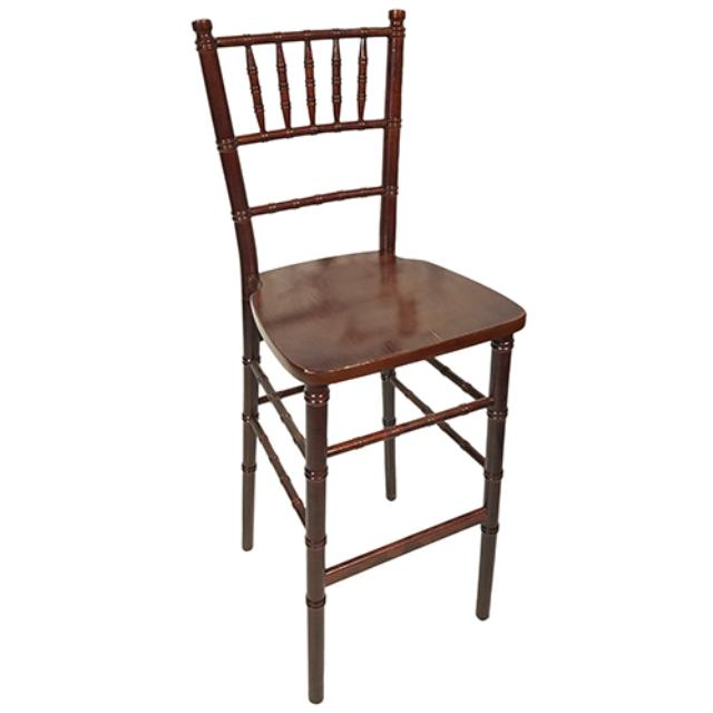Where to find Chiavari Barstool - Mahogany Wood in Monterey