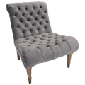 Rental store for Carmel Chair - Grey Velvet in Monterey CA