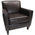 Rental store for Catalina Chair - Brown Leather in Monterey CA